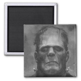 Imanes del refrigerador de Frankenstein Imán Cuadrado