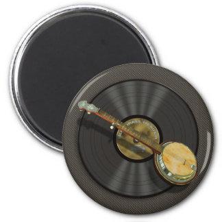 Imanes del refrigerador de la música del banjo imanes para frigoríficos