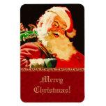 Imanes del regalo del navidad de Papá Noel del vin