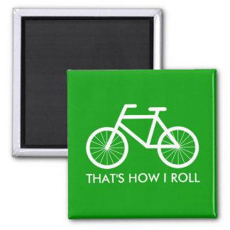 Imanes divertidos de la bicicleta para las fans de imán cuadrado