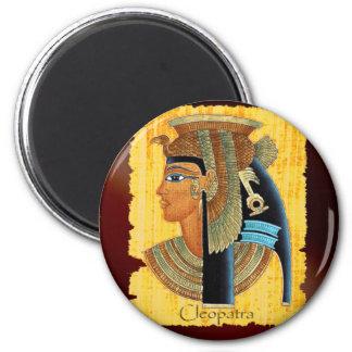 """Imanes egipcios del arte de """"Cleopatra"""" Imanes Para Frigoríficos"""