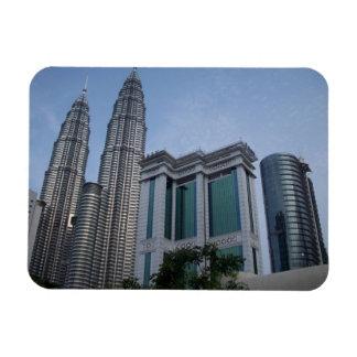 Imanes flexibles de Kuala Lumpur de las torres gem