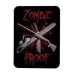 Imanes flexibles de la prueba del zombi