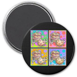 Imanes - galletas del arte pop