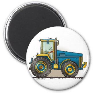 Imanes grandes azules del tractor imán redondo 5 cm