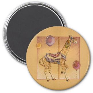 Imanes - jirafa del carrusel