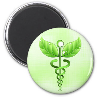Imanes médicos de la medicina alternativa del imán redondo 5 cm