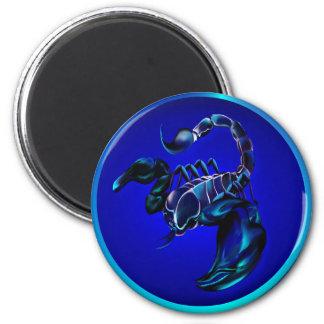 Imanes negros del escorpión imán redondo 5 cm