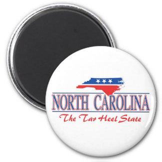 Imanes patrióticos de Carolina del Norte