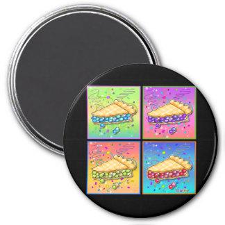 Imanes - pedazo de arte pop de la empanada