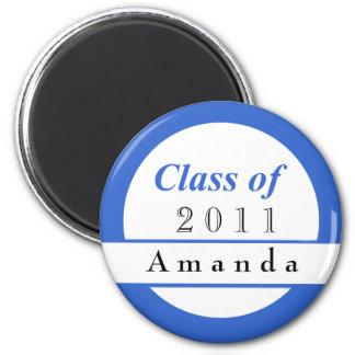 Imanes personalizados de la graduación
