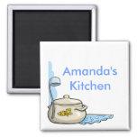 Imanes personalizados personalizado de la cocina