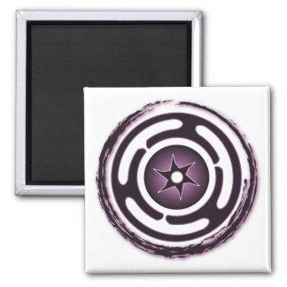 Imanes (púrpuras) de la rueda de Hecate Iman De Nevera