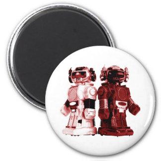 imanes rojos de los robots