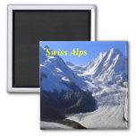 Imanes suizos de las montañas