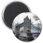 "Imanes"" TOWER BRIDGE LONDON"" Imán Redondo 5 Cm"