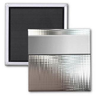 Imanes vidriosos del metal imán cuadrado