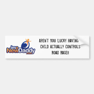 ImaNewDaddy Car Bumper Sticker