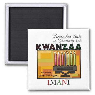 IMANI - Faith 2 Inch Square Magnet