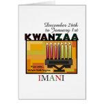 IMANI - Faith Greeting Card