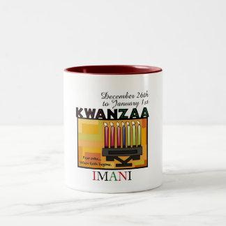 IMANI - Faith Two-Tone Coffee Mug