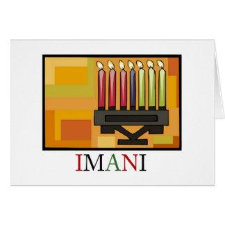 IMANI Kwanzaa Holiday Notecards Card