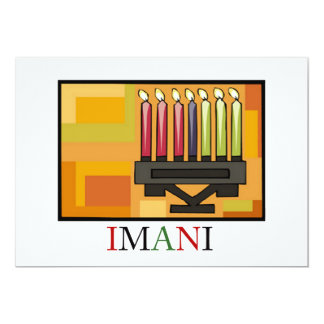IMANI Kwanzaa Holiday Party Invitations