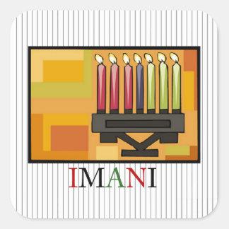 IMANI Kwanzaa Holiday Sticker