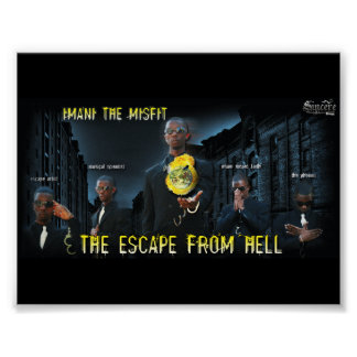 Imani the Misfit - Escape From Hell Poster