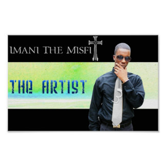 Imani The Misfit - The Artist Poster