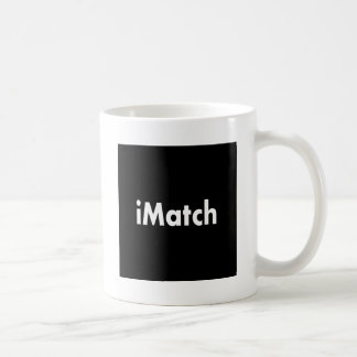 iMatch Classic White Coffee Mug