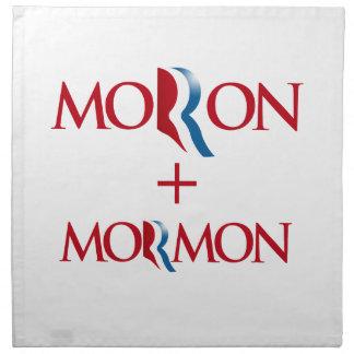 Imbécil y Mormon.png Servilleta De Papel