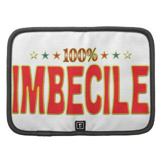 Imbecile Star Tag Folio Planners