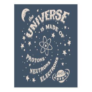 Imbéciles atómicos del universo postales