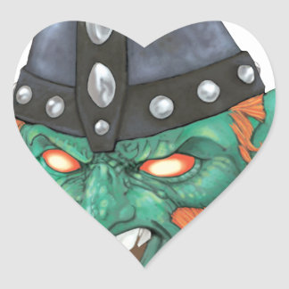 IMBH Goblin Captain Sticker Heart Sticker