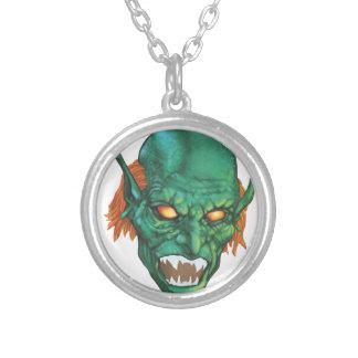 IMBH Goblin Eyes 2nd Ed Round Pendant Necklace