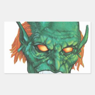 IMBH Goblin Eyes 2nd Ed Rectangular Sticker
