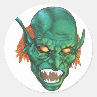 IMBH Goblin Eyes 2nd Ed Round Sticker
