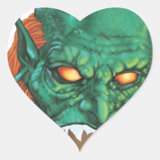 IMBH Goblin Eyes 2nd Ed Heart Sticker