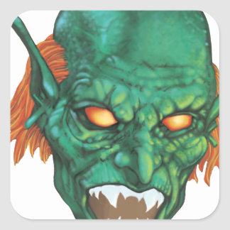 IMBH Goblin Eyes 2nd Ed Square Sticker
