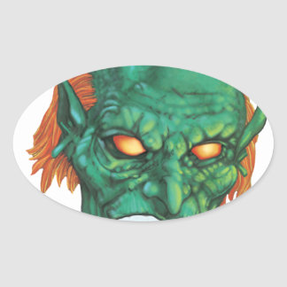 IMBH Goblin Eyes 2nd Ed Oval Sticker