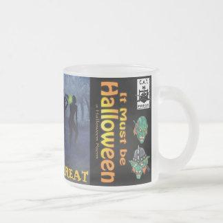 IMBH Trick or Treat UltiMug Frosted Glass Coffee Mug