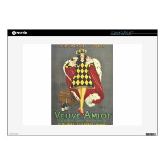 """Imbibed by Royalty 15"""" Laptop Decal"""