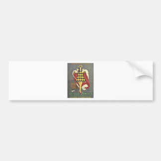 Imbibed by Royalty Bumper Sticker