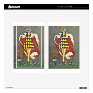 Imbibed by Royalty Decal For Kindle Fire