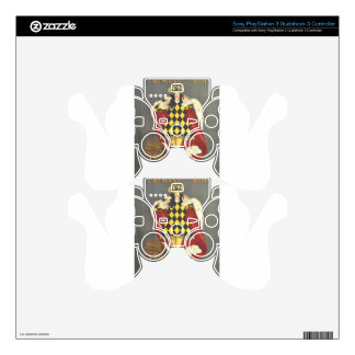 Imbibed by Royalty PS3 Controller Skins