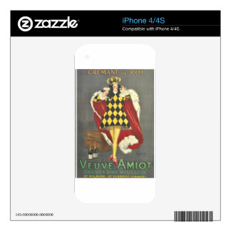 Imbibed by Royalty Skins For The iPhone 4