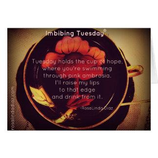 Imbibing Tuesday Card