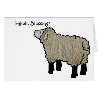 Imbolc Blessings Card
