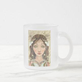 Imbolc Frosted Glass Coffee Mug
